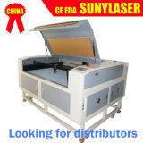 Os distribuidores quiseram a máquina 100W do laser do CO2 para metalóides da gravura da estaca