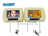 Цена по прейскуранту завода-изготовителя Suoer видео-плейер автомобиля определения монитора заголовника автомобиля монитора автомобиля 9 дюймов высокое (SE-9001)