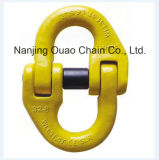 G80/100 Connecting Link Self-Locking Swivel Clevis Hook Shackles Snap Load Binders Rigging Hardware for Chain