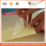 Etiqueta engomada transparente impresa de papel de la etiqueta del lustre de la impresión auta-adhesivo de la escritura de la etiqueta