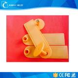 Tag de orelha animal personalizado de Cmyk impressão plástica RFID