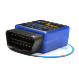 Pouvoir-Bus Bluetooth de scanner de surface adjacente d'Elm327 V2.1 OBD2 ou diagnose automatique de véhicule de WiFi
