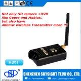 Cámara sin hilos Sky-HD01 del transmisor DV de Aio HD 1080P Fpv 400MW 32CH 5.8GHz para Hubsan X4 Fpv