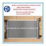Car di alluminio Radiator per Toyota Corolla CE120 (HLD12289) all'OEM: 16400-6A300