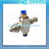 Aussaugheber-runde Spray-Druckluft-atomisierende Düse