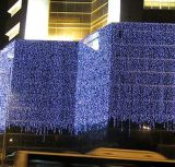 옥외 결혼식 훈장 LED 커튼 빛