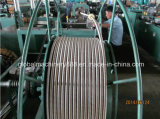 Máquina anular del conducto del metal flexible para el manguito del gas