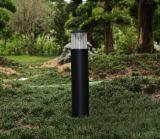 알루미늄 볼러드 LED 태양 잔디밭 빛 9W