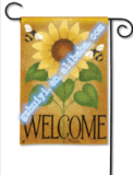 Bandierina all'ingrosso poco costosa del giardino di Halloween con il marchio personalizzato stampato (HY09124)