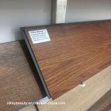Vinyle de clic de plancher de PVC de carrelage de PVC de Commerical