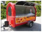 SaleのためのFast FoodヴァンCaravan Hot Dog Outdoor Design Cart