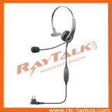 경량 헤드폰을 취소하는 양용 라디오 단 하나 이어폰 소음