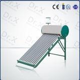 Tubos de cobre de alta presión precalentamiento el calentador de agua solar