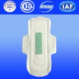 as almofadas sanitárias ultra finas do Normal de 320mm imprimiram almofadas Maxi sanitárias dos guardanapo de papel com asas
