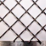 高品質の正方形によって溶接される/Crimpedの金網