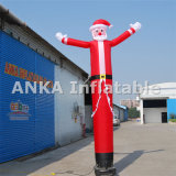 Bailarín inflable Papá Noel del cielo para la celebración de la Navidad