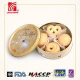 Casse-croûte doux de vente chaud de biscuits de bidon de biscuit de casseur