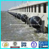 원통 모양 방파제 유형 바다 고무 구조망