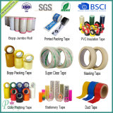Blaues Krepp-Papier-selbsthaftendes Kreppband für Spray-Drucken