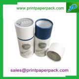 Rectángulo cosmético modificado para requisitos particulares del papel del cilindro con la impresión de la insignia