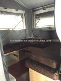 De Harde Aanhangwagen van uitstekende kwaliteit van de Kampeerauto van de Vloer Voorwaartse Vouwende met Adr Certificaat