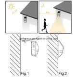 Luz do sensor de movimento do diodo emissor de luz para ao ar livre