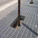 Galvanisé autour de la grille en acier, galvanisée autour de râper