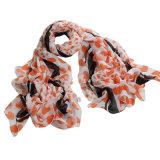 Фабрика шарфа женщин шарфа маркизета полиэфира осени способа длинняя