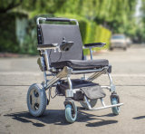 12 sedia a rotelle piegante elettrica di pollice 1-Second per gli anziani
