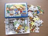 Cardboard feito sob encomenda Paper DIY Jigsaw Puzzle Toy para Children
