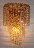 Lâmpada decorativa do Grande Muralha de Phine com iluminação interior de Crystall