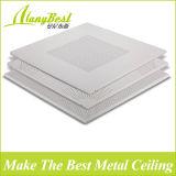 알루미늄 도매 595*595는 쉬운 임명을%s 가진 천장에 있는 위치를 내화장치한다