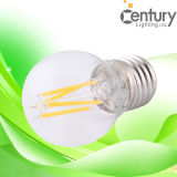 Ampola sem iluminação do vintage do bulbo do filamento do diodo emissor de luz da eletricidade