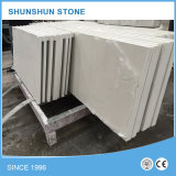 Искусственний белый популярный камень кварца для верхних частей кухни