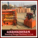Holle van de Technologie Qt4-40 van Duitsland de Hydraulische Automatische Concrete/Machine van het Blok van de Betonmolen met Dieselmotor in Afrika