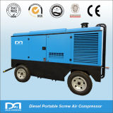 Miningのための携帯用Diesel Engine Portable Screw Air Compressor
