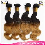 Erstaunliche Ton-Menschenhaar-Webart des Haarpflegemittel-Ananas-Wellen-Haar-Brasilianer-zwei