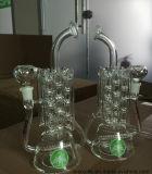 Da forma Inline do radiador do aquecimento de Perc do reciclador tubulação de água de fumo de vidro