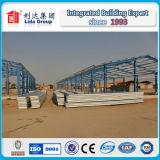 Magazzino della struttura d'acciaio di disegno della costruzione dell'Abu Dhabi