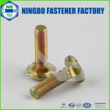 ANSI/ASTM/ASME Carriage Bolt A307 Grade a/SAE J429 Grade 5 Cr+6 Yellow Zinc Plated