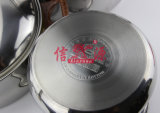 Pote del vapor del acero inoxidable con el alto pote de la sopa (FT-1836)