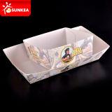 Bandeja de papel del sushi, barco de la cartulina para el sushi