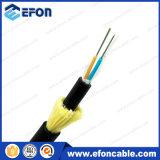 Da fibra blindada aérea do fio de ADSS cabo ótico Kevlar (ADSS)
