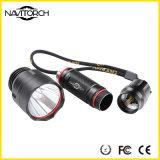 T6 LED 높은 가벼운 까만 물 저항하는 충격 방지 LED 토치 (NK-33)