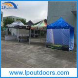 屋外の六角形の販売のための鋼鉄広告のおおいの折るテント