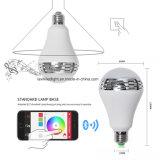 Smartphone a contrôlé l'ampoule sèche d'éclairage LED de haut-parleur sans fil de Bluetooth