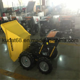 250kgs 4WD Gasoline Engine Mini Dumper con Chain Drive (KD250S)