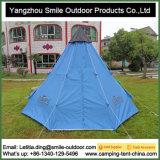 Tente extérieure faite sur commande campante se baladante de Teepee de 10 personnes à vendre
