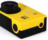 WiFi 4k cámara del deporte de H2 a prueba de agua de la lente de ojo de pez Acción videocámara