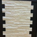 زخرفيّة أبيض لول إفريز رصيف جدار حجارة